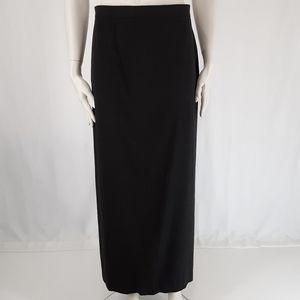 Jones & Co | Maxi Long Skirt Charcoal Gray
